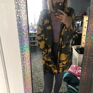 Missguided parka jacket
